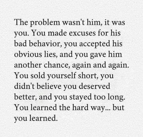 You deserve better ♡                                                       …