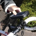 Supporto per Bicicletta iPhone 5, Xperia, GALAXY S III