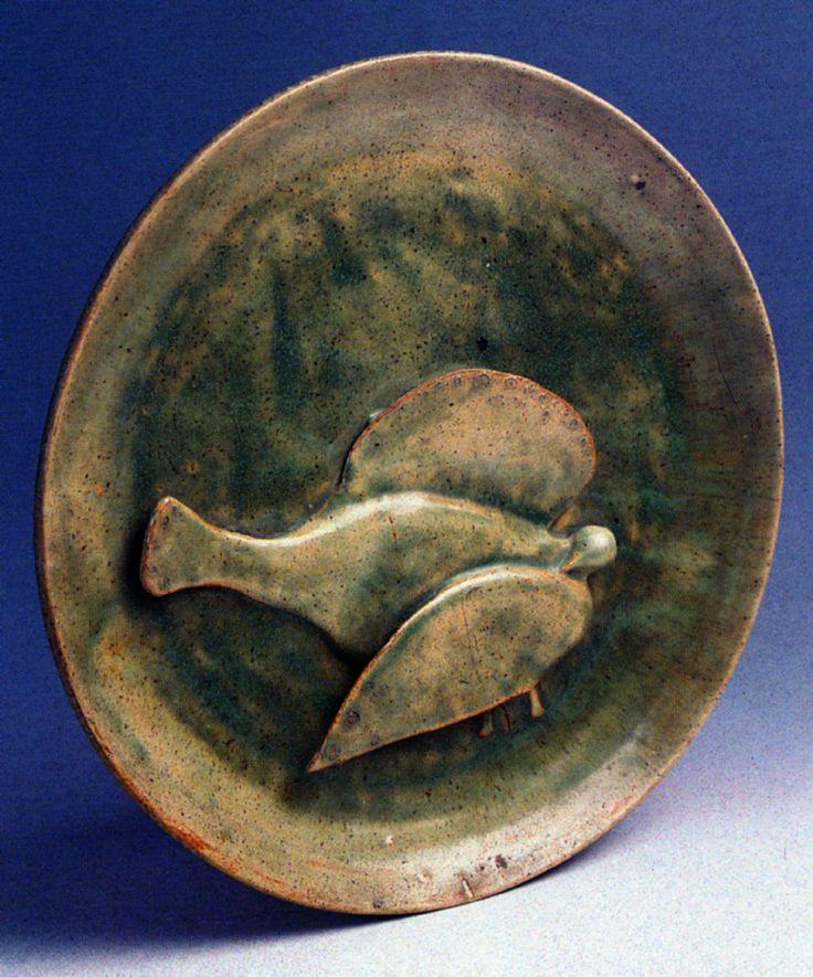 Füreya Koral, plate, gres, 39 cm, 1977 (Erdinç Bakla archive)