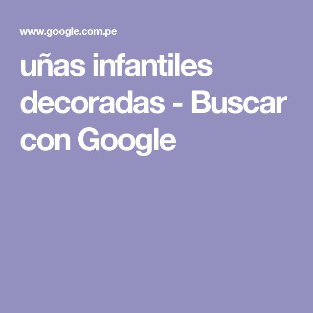 uñas infantiles decoradas - Buscar con Google