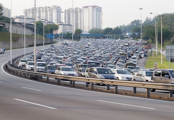 Why vehicular traffic #congestion is indicative of economic vibrancy -rethinking the economics of mobility.
