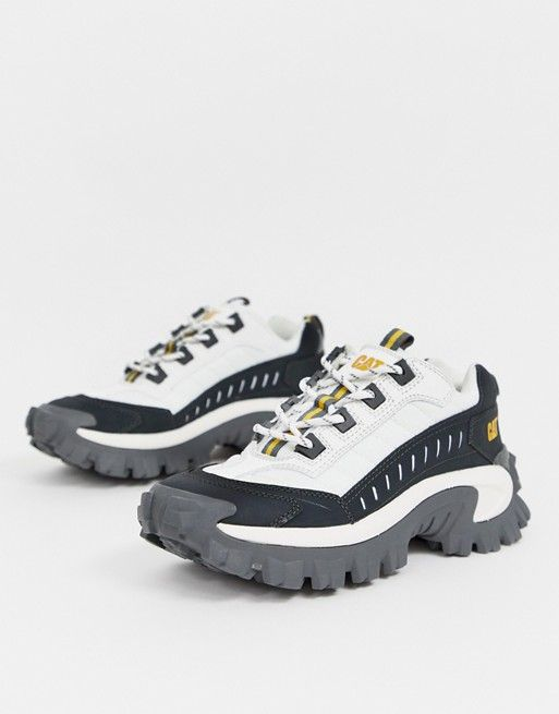ae4288cef CAT Intruder chunky sneakers in bell white in 2019 | Inspiracje ...