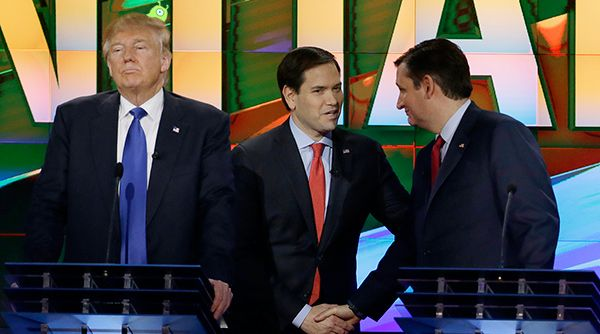 """Share on Facebook 1 1 SHARES When you look at the numbers, there is no better candidate to take on Hillary Clinton than Marco Rubio. That's not bias. Look at the numbers. Nobody beats Hillary more consistently than Rubio. He has the highest favorables of any of the GOP candidates still standing. It is not that Rubio is """"electable"""" – it is that he is 