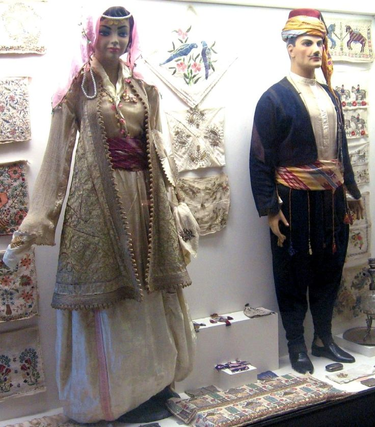 Ottoman costume in the Museum of Archaeology and Ethnography, Edirne