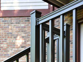 Keystone Aluminum Deck Railing - suggested by CK