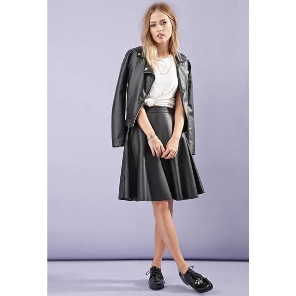 Přes 25 nejlepších nápadů na téma Leather A Line Skirt na Pinterestu