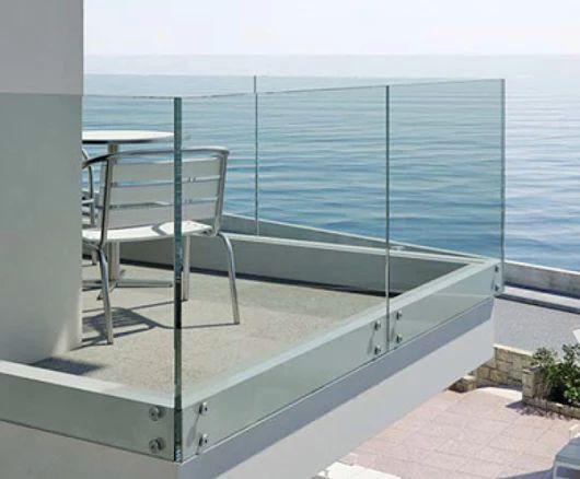 Mejores 25 im genes de barandales de cristal en pinterest - Barandilla terraza ...