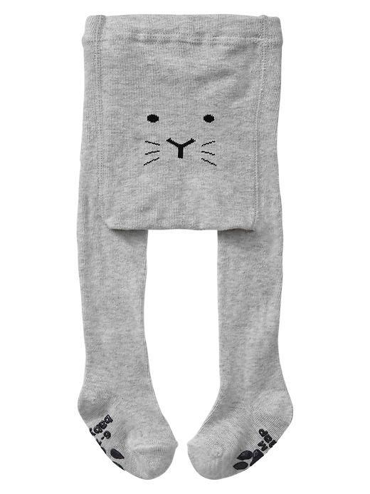 Cat knit tights