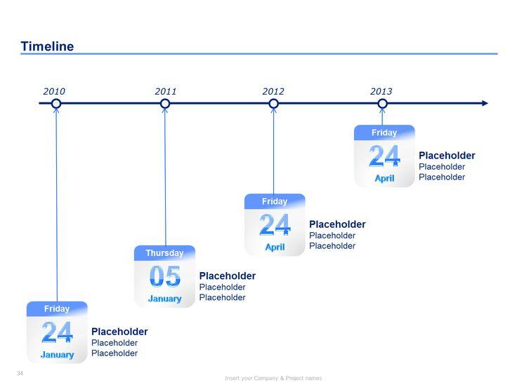 21 best Project Plan Templates \ Project Timeline Templates images - career timeline template