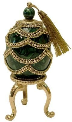 Decorated Real Egg Refillable Perfume Bottle #1547