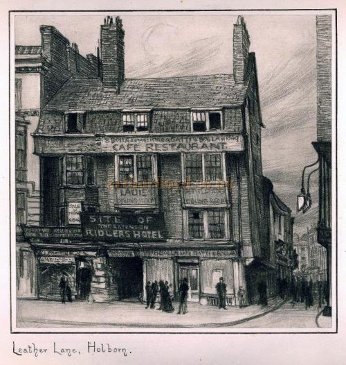Leather Lane, Holborn