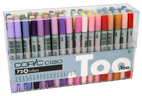 Набор маркеров  COPIC CIAO Set A/72 цвета