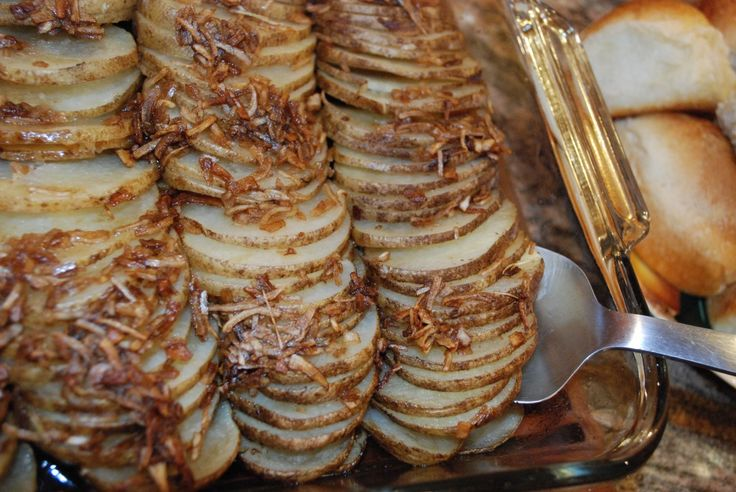 Baked Lipton Onion Potatoes...easy and delicious