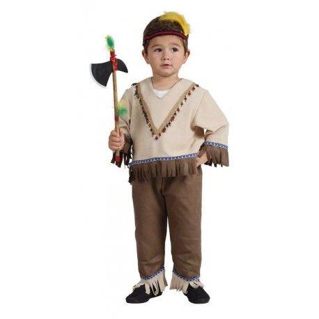Disfraz de indio bebe - Comprar en Tienda Disfraces Bacanal. La mejor tienda de online de venta de disfraces: Baratos, excelente calidad, envío rápido.