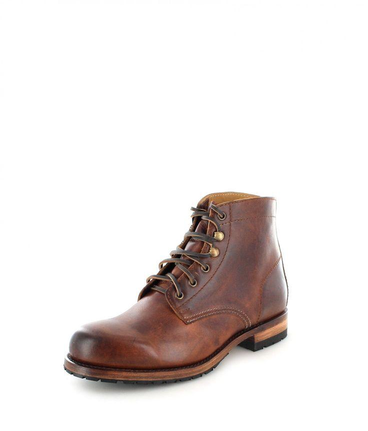 Sendra Boots Stiefel 5595 Dunkelbraun Chelsea Boots Stiefelette