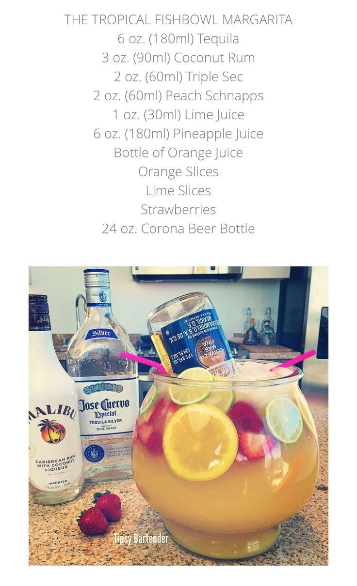 Best 25 fishbowl drink ideas on pinterest most popular for Fish bowl drink tipsy bartender