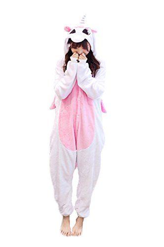 784663bfaa Yimidear® Unisex Cálido Pijamas para Adultos Cosplay Animales de Vestuario  Ropa de dormir Halloween y Navidad(S