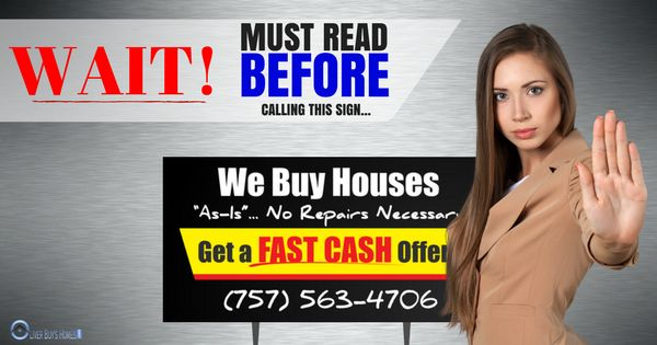 """You may have seen the bandit signs up saying """"We Buy Houses for Cash in ANY condition"""". You may have that little feeling in your gut saying """"something doesn't seem right"""" or """"what is the catch?"""". So, What Are The """"We Buy Houses for Cash in ANY Condition"""" Companies All About?  The """"We Buy…Continue Reading →"""