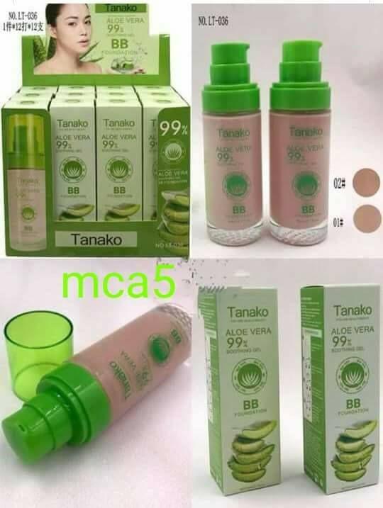 220 Tanako Aloe Vera BB Cream Liquid Foundation