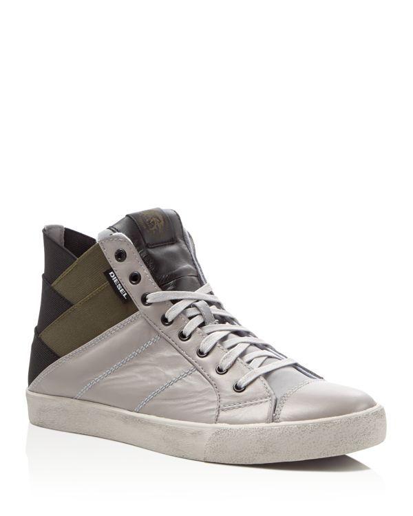 Diesel D-Velows S-Tunnyngs High Top Sneakers