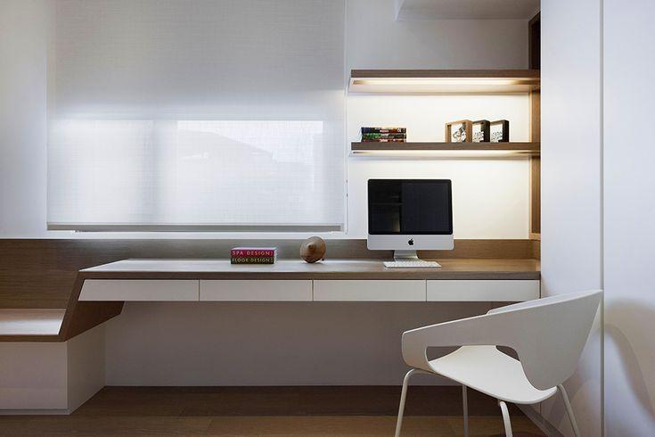 Stylish Open-Plan Apartment in Taipei Showcasing Futuristic Design Ideas - http://freshome.com/2014/09/19/stylish-open-plan-apartment-in-taipei-showcasing-futuristic-design-ideas/
