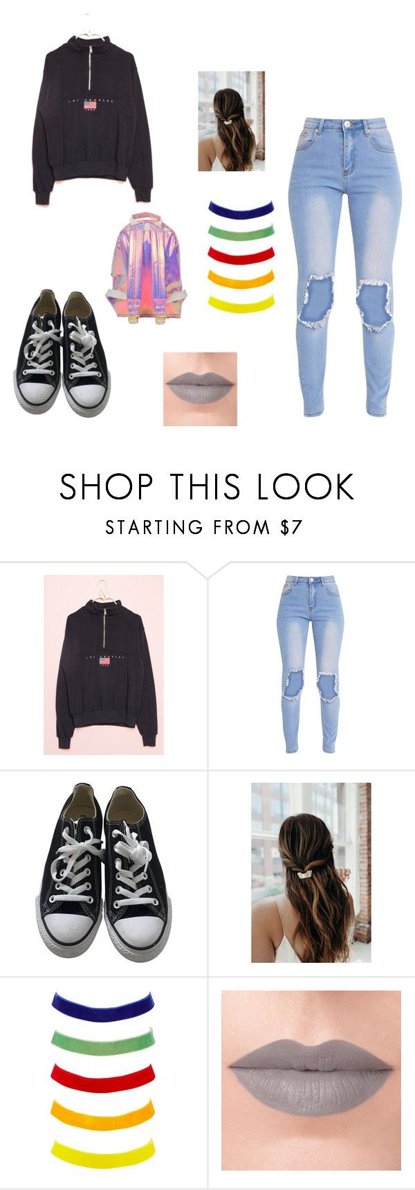 """""""moda4"""" by denisa13alexandra on Polyvore featuring Converse, Charlotte Russe, Rituel de Fille and Miss Selfridge"""