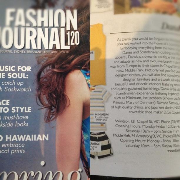 #fashionjournal #october2012 #samsoe #minimum #dicocopenhagen #nn07