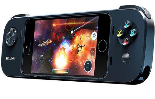 Contrôleur de jeu pour iPhone - PowerShell Controller + Battery - Logitech