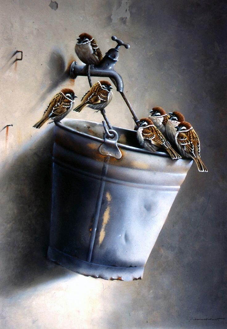 Художник Jan Weenink. Мир птиц.. Обсуждение на LiveInternet - Российский Сервис Онлайн-Дневников