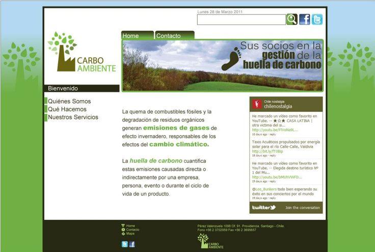Portal Web Carboambiente