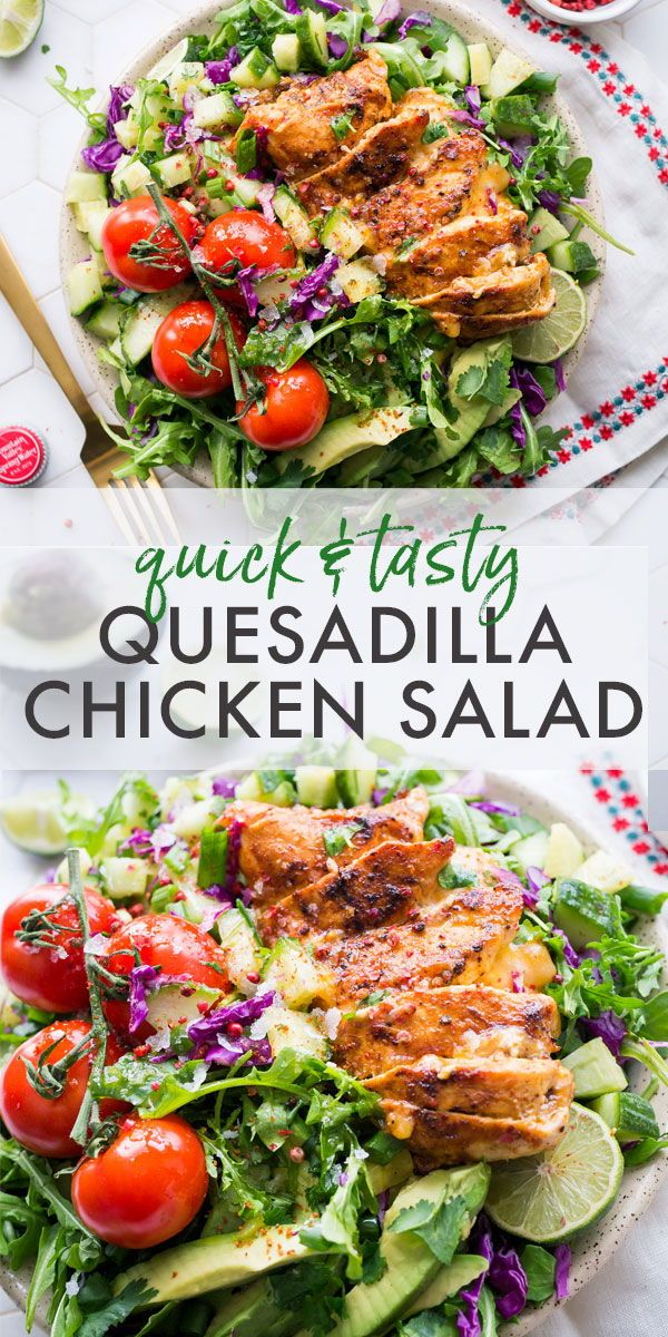 Dalts Chicken Salad Quesadilla Recipe