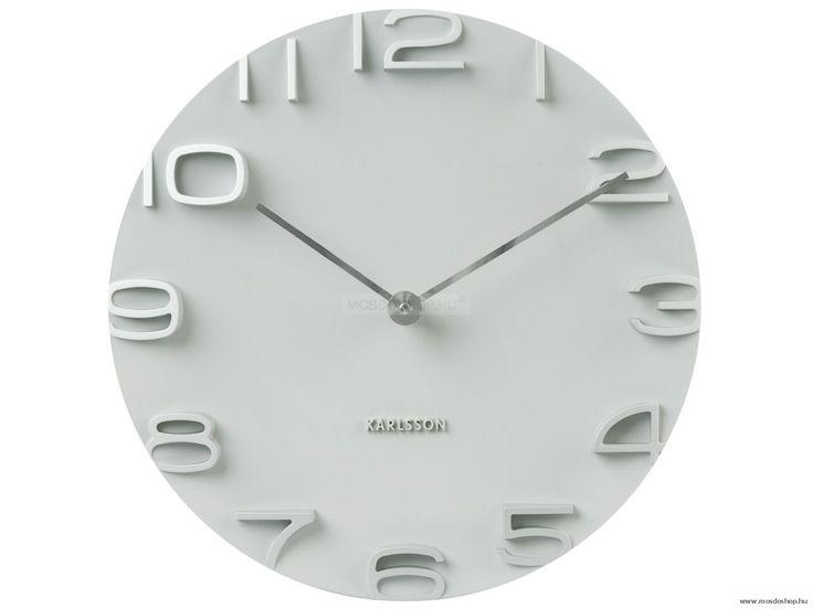 Karlsson - Relief XL White falióra