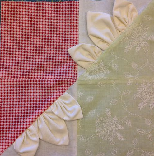 Block 4: rabbit ears – Textured 4-patch quilt | Sewn Up by TeresaDownUnder