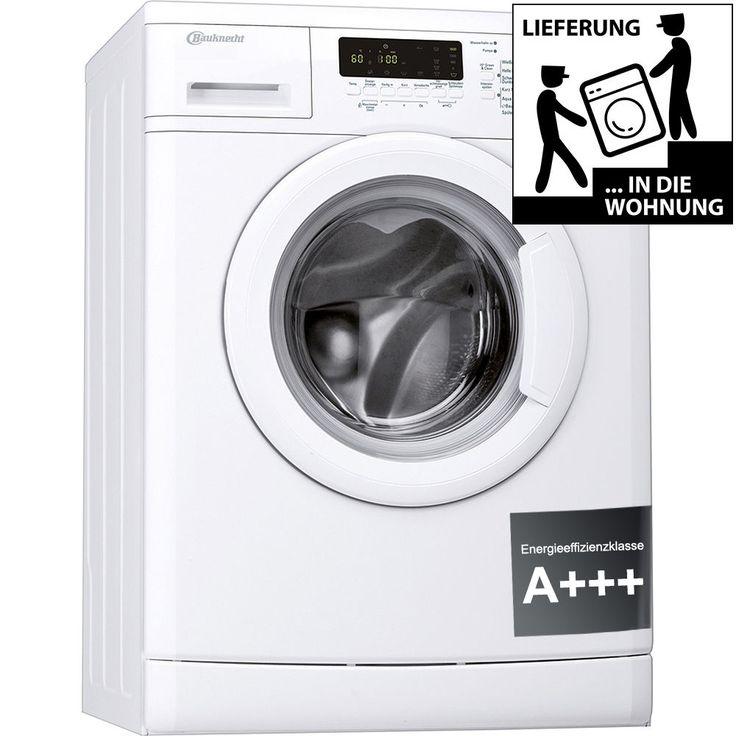 BAUKNECHT WA Care 824 PS Waschmaschine Frontlader A+++ 1400UpM 8kg Unterbaufähig