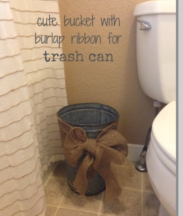 11 best trash can images on pinterest bathrooms decor bathroom ideas and for the home. Black Bedroom Furniture Sets. Home Design Ideas