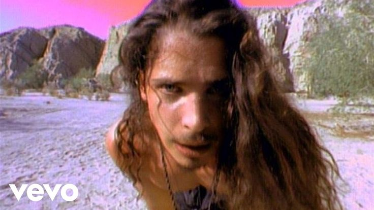 i love Chris Cornell in this video, but I am so obsessed with the outfit! shorts, combat boots, necklaces and no shirt. badass.