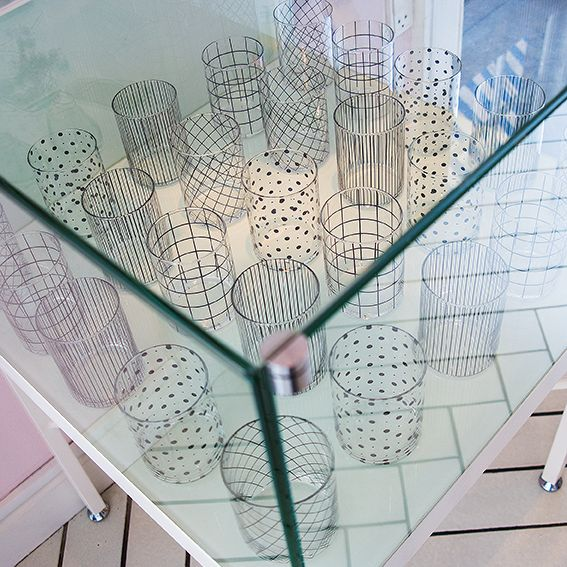 Royal Smushi Cafe - glass