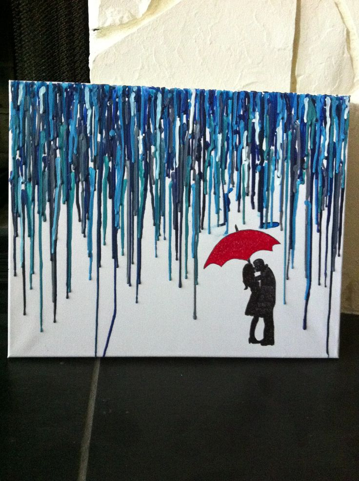 Best 25 crayon canvas art ideas on pinterest crayon for How to make a melted crayon art canvas