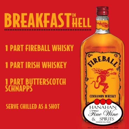 Breakfast In Hell Recipe With Fireball Cinnamon Whisky