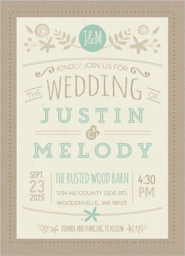 20 Informal Wedding Invitations Wedding Invitations Wedding