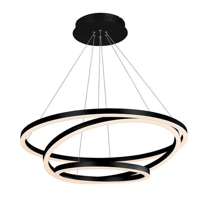 Chifdale 3 Light Unique Statement Geometric Led Chandelier Lampen Design Statements