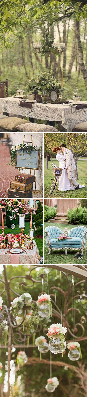 Bodas Victorianas: Ideas preciosas para decorar una boda vintage inspirandonos en el estilo victoriano.