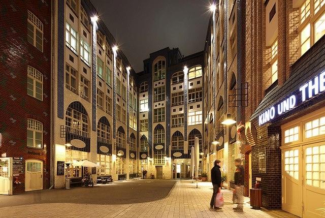 Berlin, Hackesche Höfe
