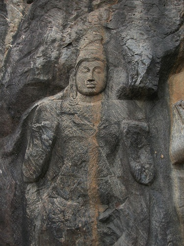 Best buduruwagala rock carving images on pinterest