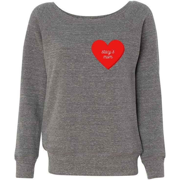 Stacy's Mom: Off The Shoulder Sweatshirt