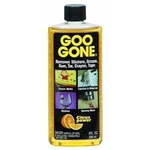 'Goo Be Gone With Goo Gone - Uses For Removing Sticky Messes...!' (via Stain Removal 101)