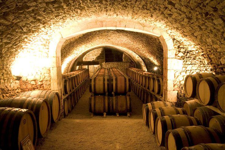 Venez découvrir le chai du château Montfaucon en réservant votre visite sur Wine Tour Booking