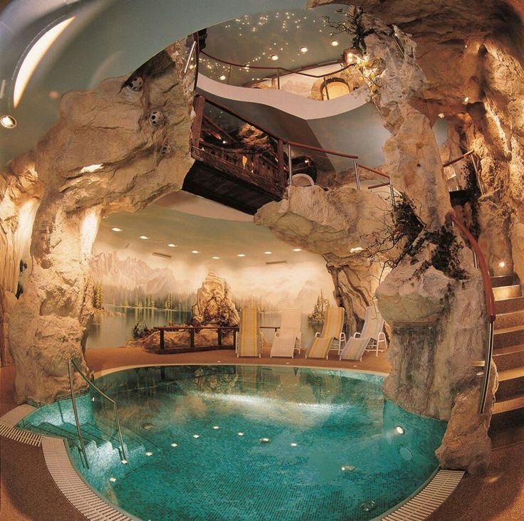 when i retire to my cavehome by the seacave home with indoor pool like a dream