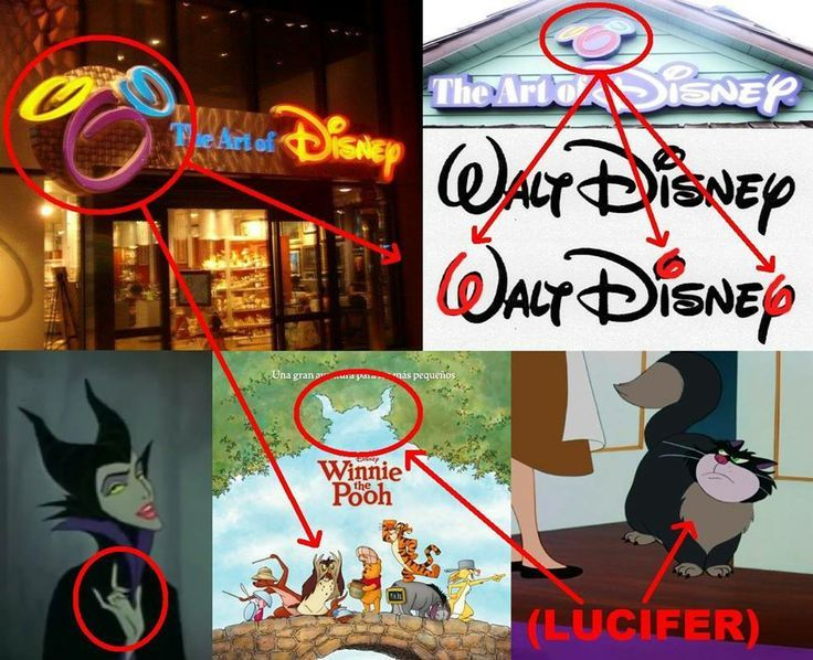 Image result for Secret Symbolism in disney