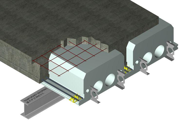 Quad deck concrete floor assmbly construction ideas for Concrete icf